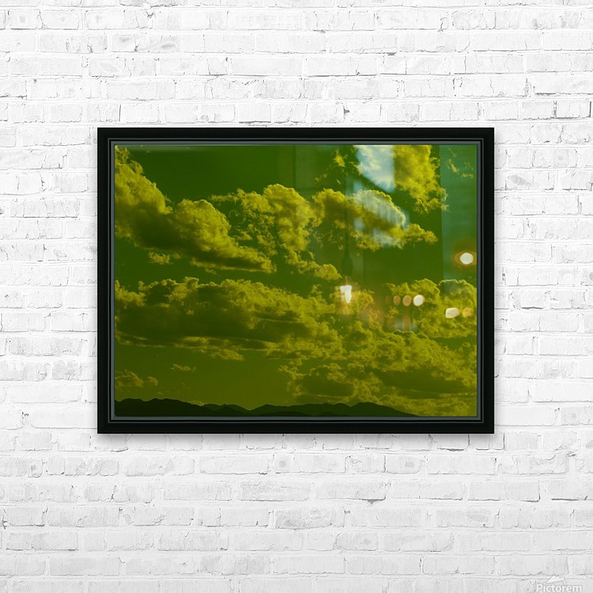 H (8) HD Sublimation Metal print with Decorating Float Frame (BOX)