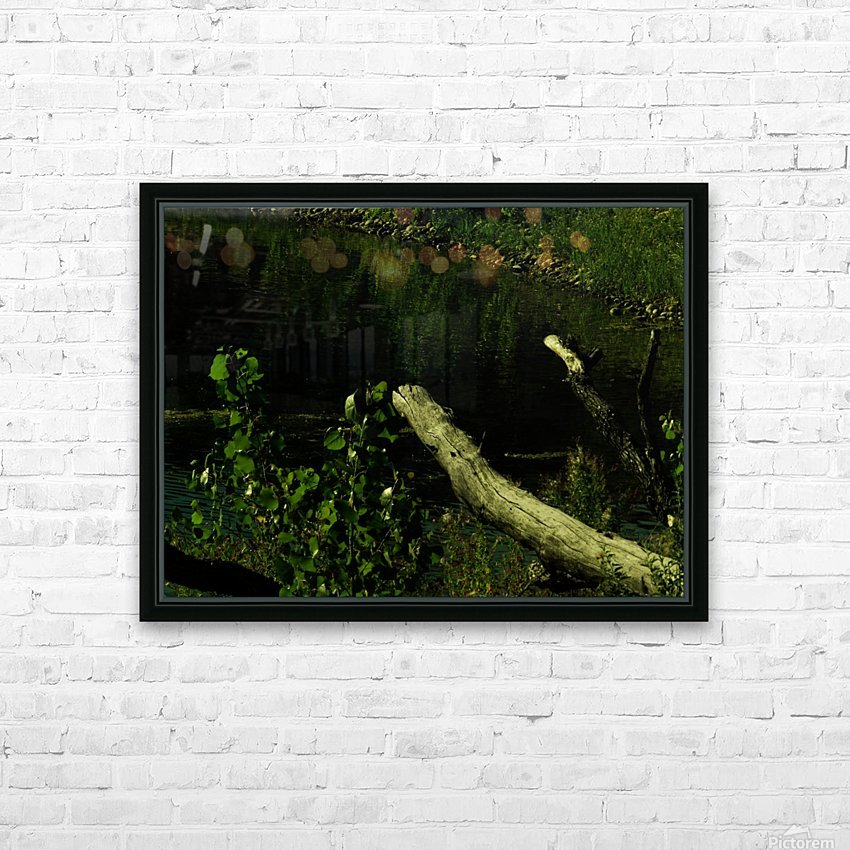 sofn-DC7396D7 HD Sublimation Metal print with Decorating Float Frame (BOX)