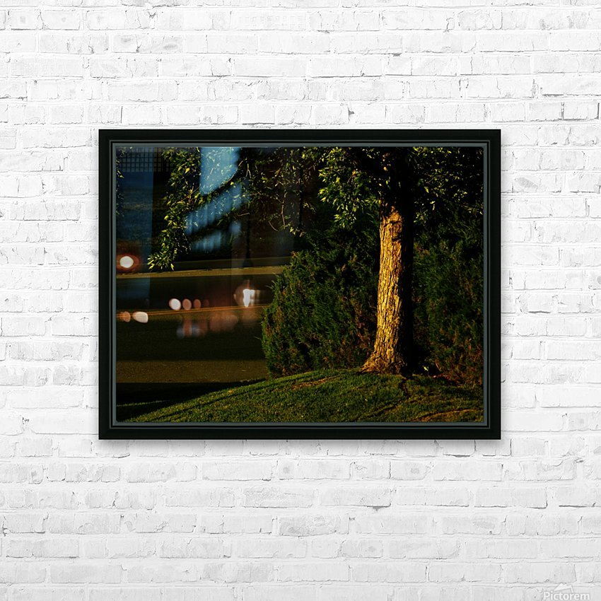 H (15) HD Sublimation Metal print with Decorating Float Frame (BOX)