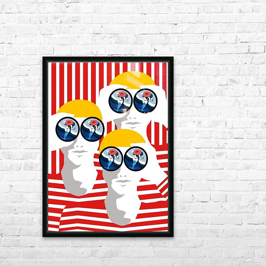 The Observers  HD Sublimation Metal print with Decorating Float Frame (BOX)