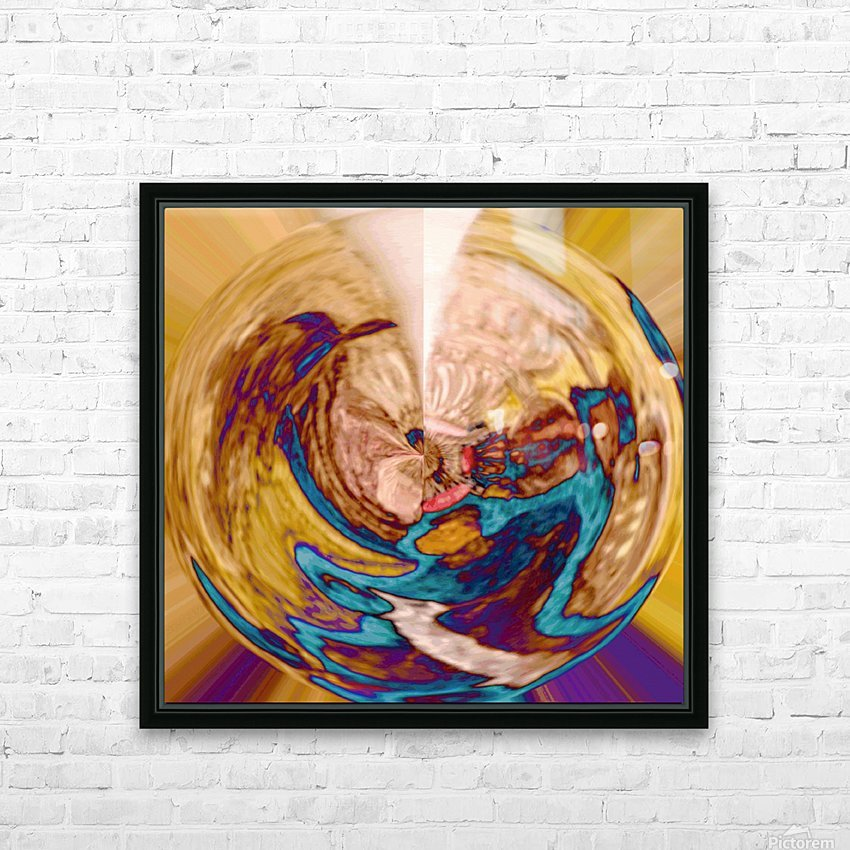 Antic_Surrender HD Sublimation Metal print with Decorating Float Frame (BOX)