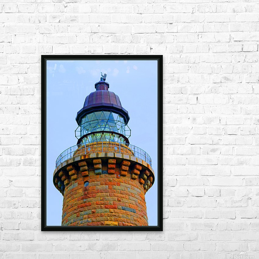 Lighthouse HD Sublimation Metal print with Decorating Float Frame (BOX)