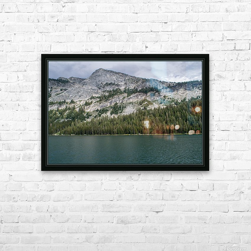 tenaya mountain HD Sublimation Metal print with Decorating Float Frame (BOX)