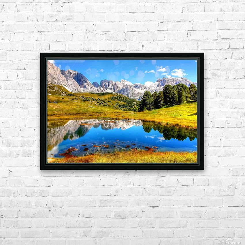 Italy DL_2179641 HD Sublimation Metal print with Decorating Float Frame (BOX)