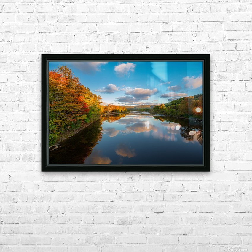 A Margaree Fall HD Sublimation Metal print with Decorating Float Frame (BOX)