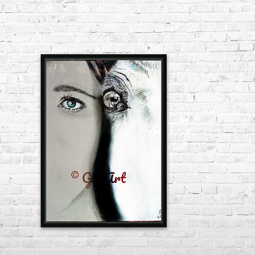 Reflection 2 HD Sublimation Metal print with Decorating Float Frame (BOX)