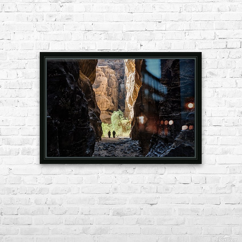 Among the Giants HD Sublimation Metal print with Decorating Float Frame (BOX)