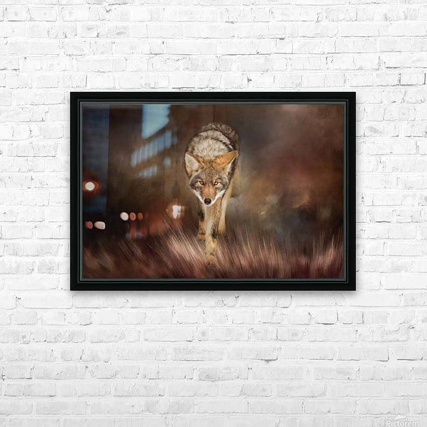 Out of the Shadows HD Sublimation Metal print with Decorating Float Frame (BOX)