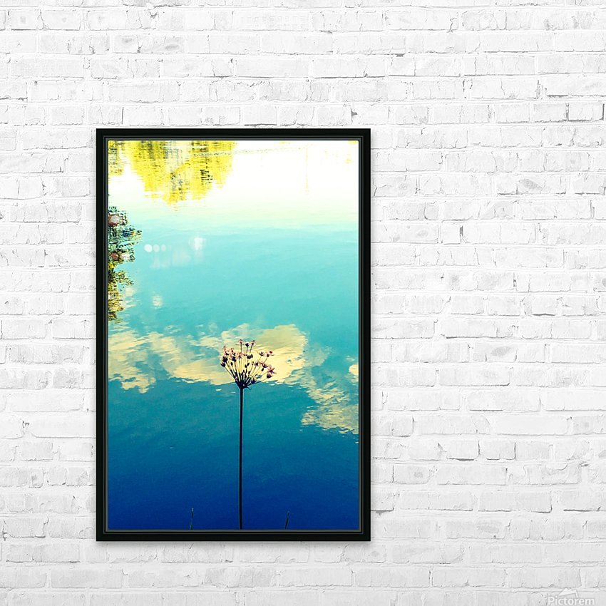 Blue Skies HD Sublimation Metal print with Decorating Float Frame (BOX)
