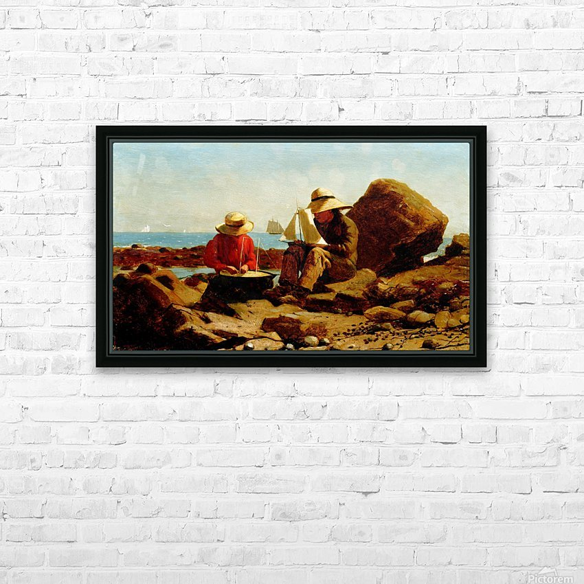The Boat Builders_OSG HD Sublimation Metal print with Decorating Float Frame (BOX)