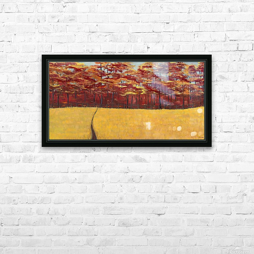Dreams of Autumn HD Sublimation Metal print with Decorating Float Frame (BOX)