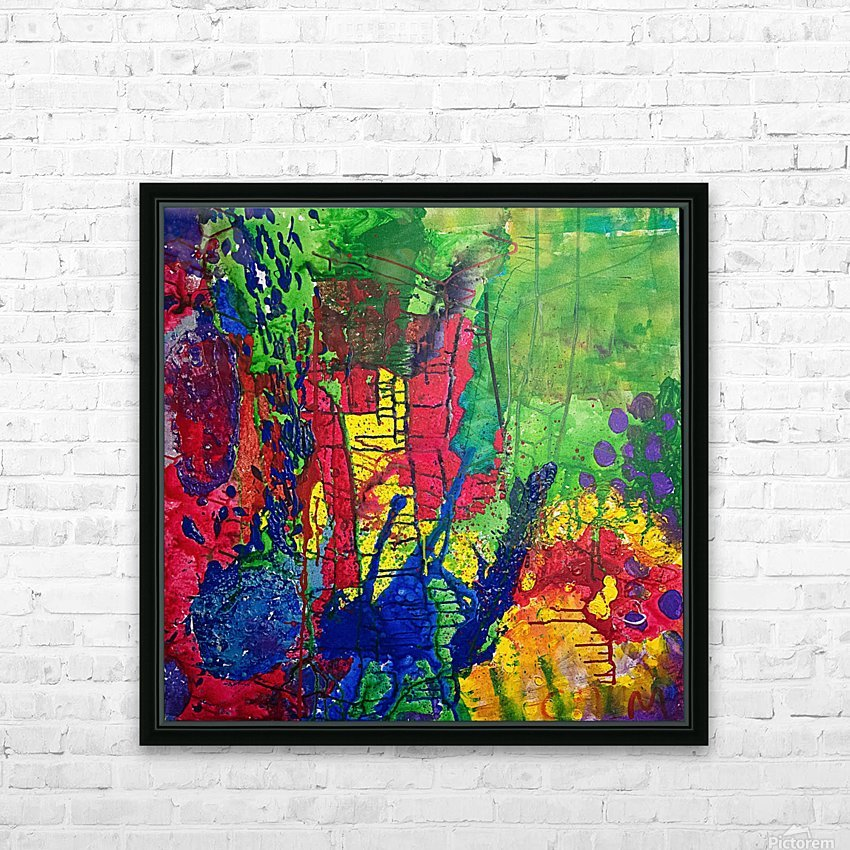 MV02072014 HD Sublimation Metal print with Decorating Float Frame (BOX)