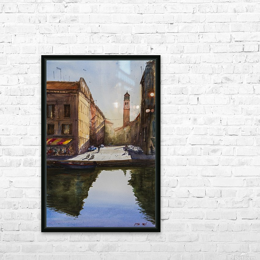 VENICE 1 Italy HD Sublimation Metal print with Decorating Float Frame (BOX)