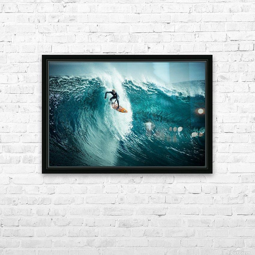 Russell Bierke at Shipstern HD Sublimation Metal print with Decorating Float Frame (BOX)