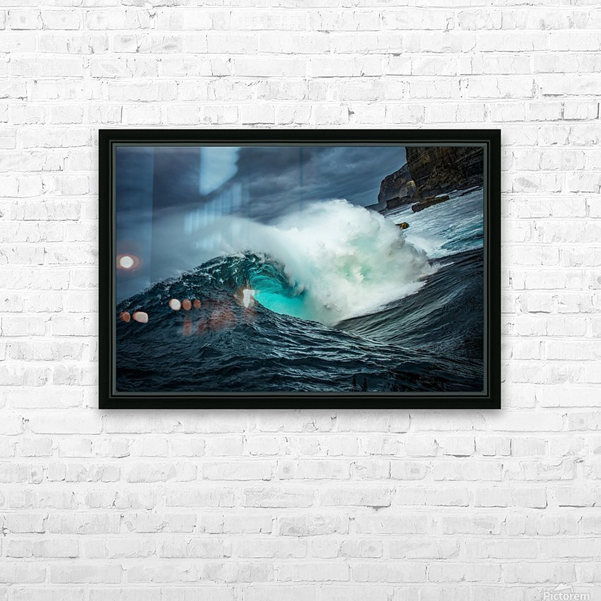 Dramatic Shippies HD Sublimation Metal print with Decorating Float Frame (BOX)
