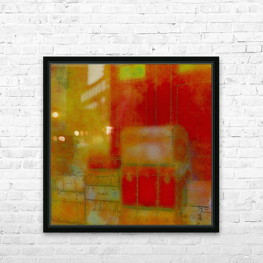 ARRIVALS HD Sublimation Metal print with Decorating Float Frame (BOX)
