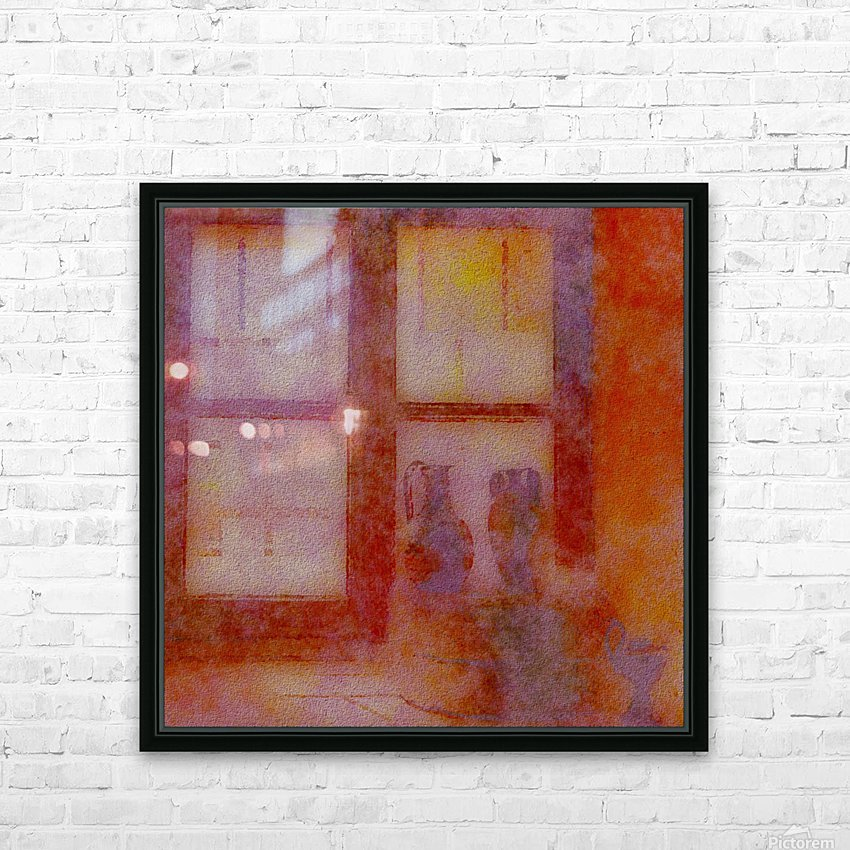 FADED VIEWS HD Sublimation Metal print with Decorating Float Frame (BOX)