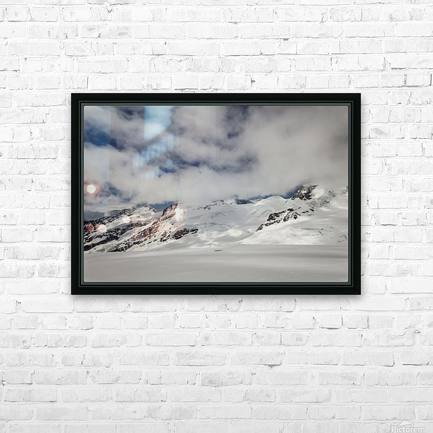 Clouds Crashing HD Sublimation Metal print with Decorating Float Frame (BOX)