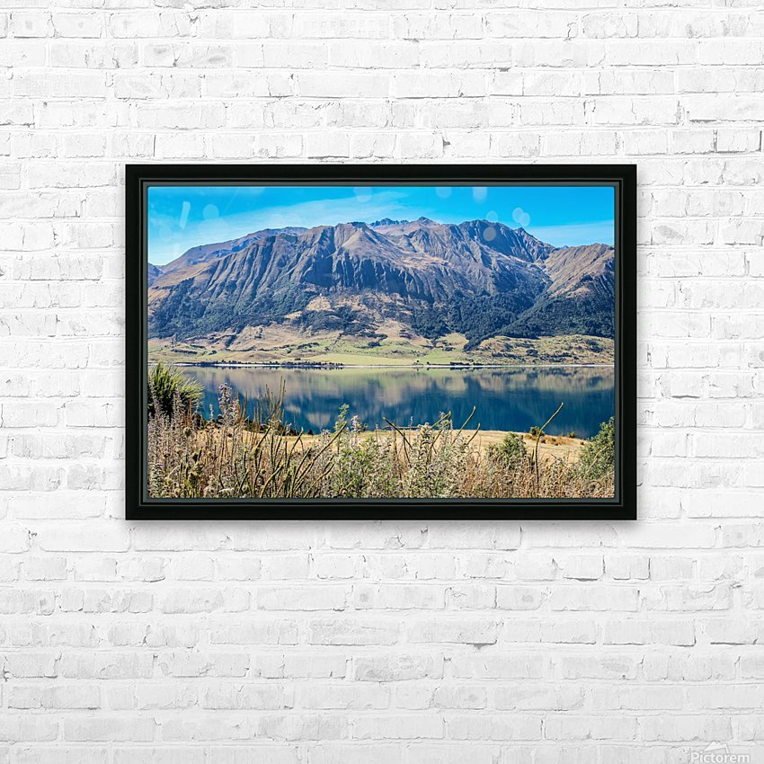 Mighty Mount HD Sublimation Metal print with Decorating Float Frame (BOX)