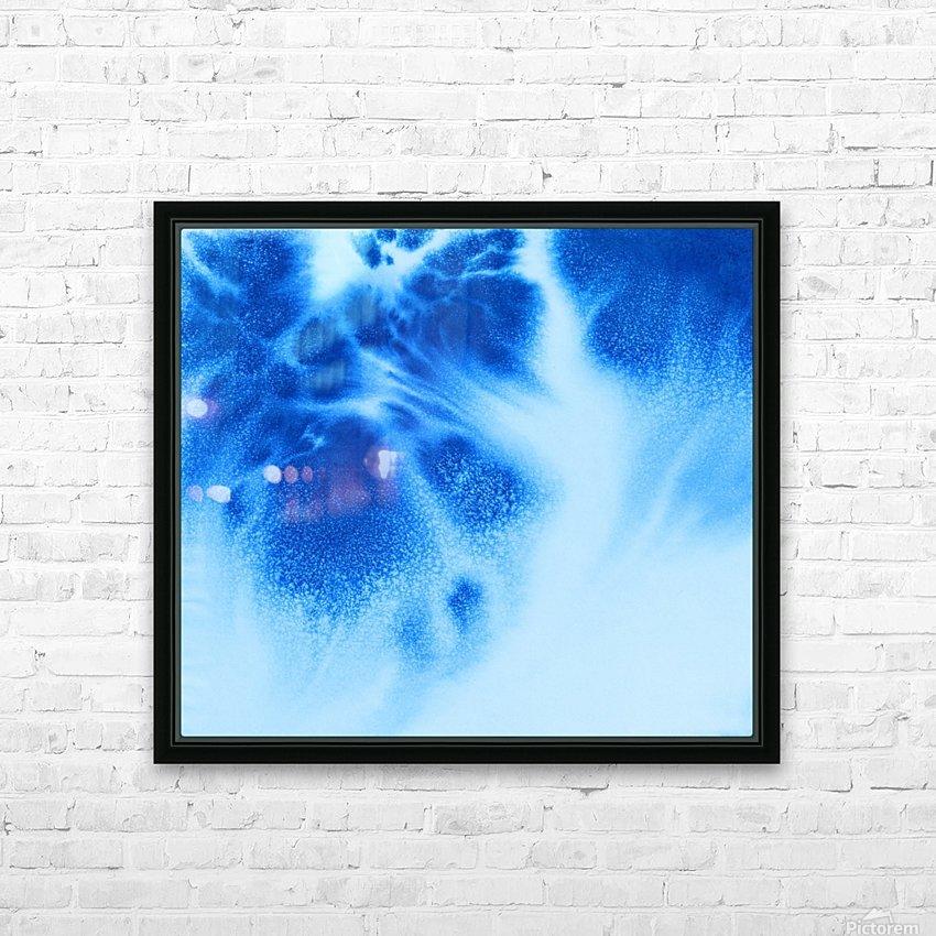 Afternoon Clouds HD sublimation métal imprimé avec décoration flotteur cadre (boîte)