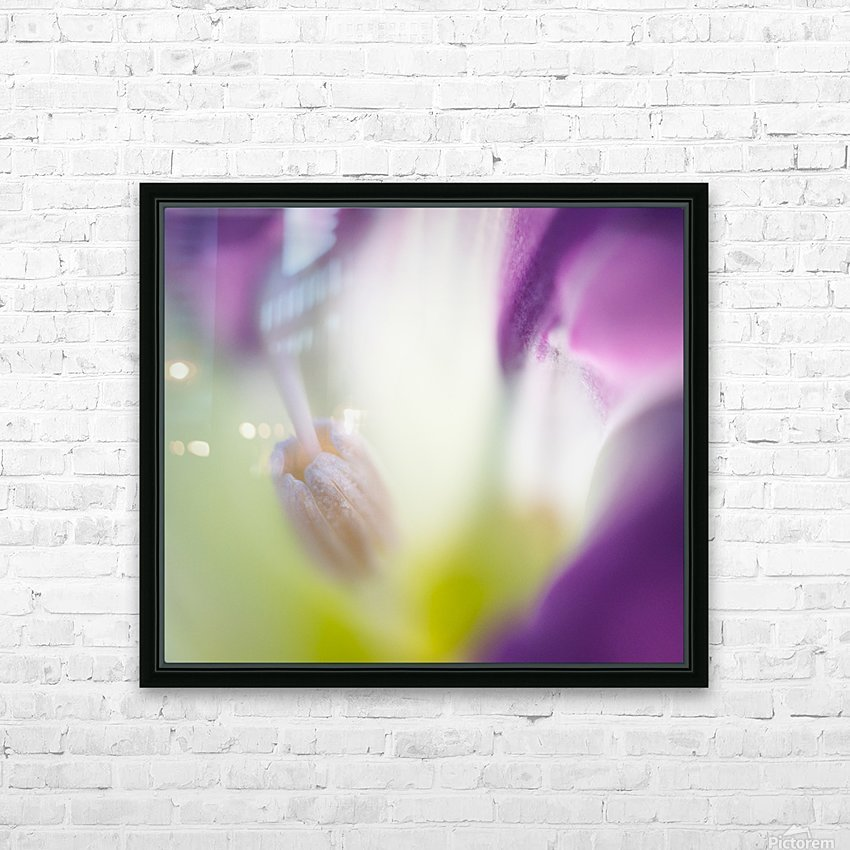 Light Cascade - Cascade de lumiere HD Sublimation Metal print with Decorating Float Frame (BOX)