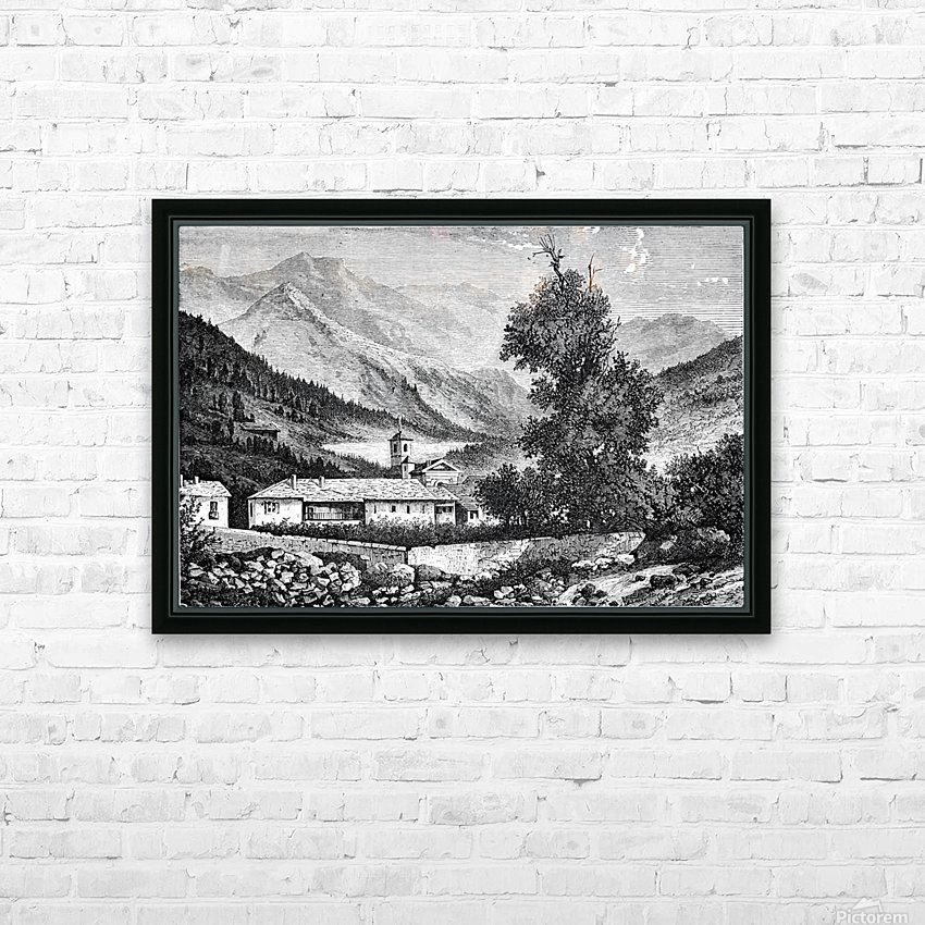 Bardonecchia View_OSG HD Sublimation Metal print with Decorating Float Frame (BOX)
