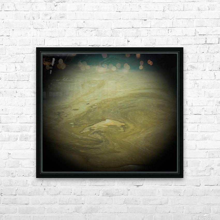 Another World - Un Autre Monde HD Sublimation Metal print with Decorating Float Frame (BOX)