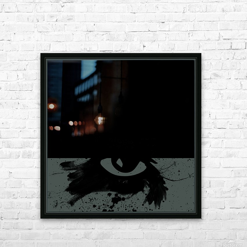 Abstract Night  HD Sublimation Metal print with Decorating Float Frame (BOX)