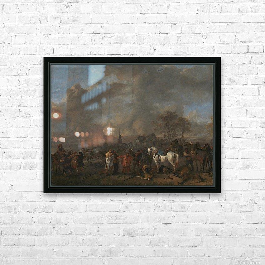 De overwinning der boeren Rijksmuseum HD Sublimation Metal print with Decorating Float Frame (BOX)