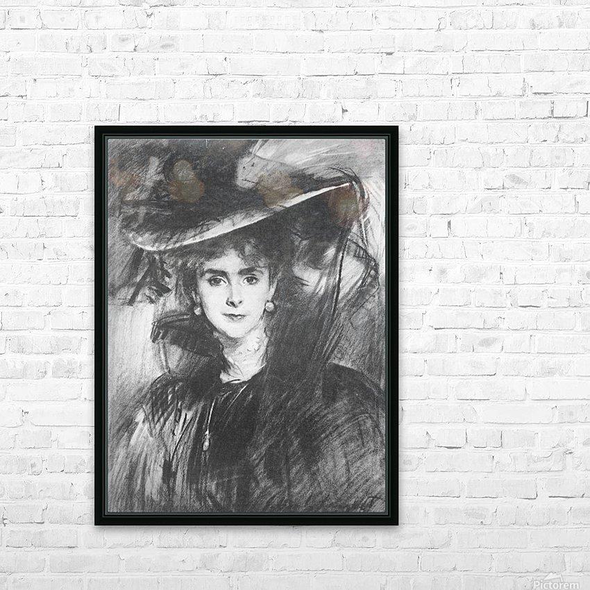 Baroness de Meyer by John Singer Sargent HD Sublimation Metal print with Decorating Float Frame (BOX)