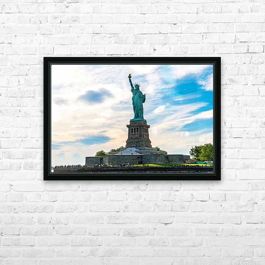 Libertad  HD Sublimation Metal print with Decorating Float Frame (BOX)