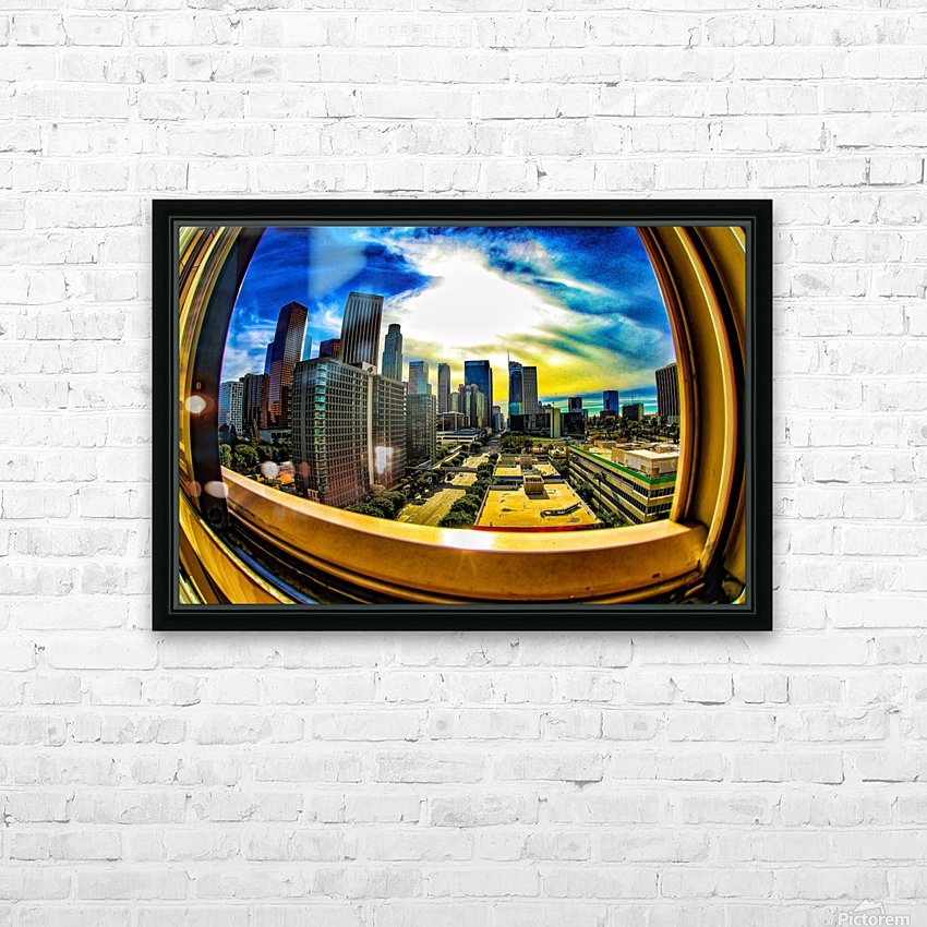 Beyond the Frame  HD Sublimation Metal print with Decorating Float Frame (BOX)