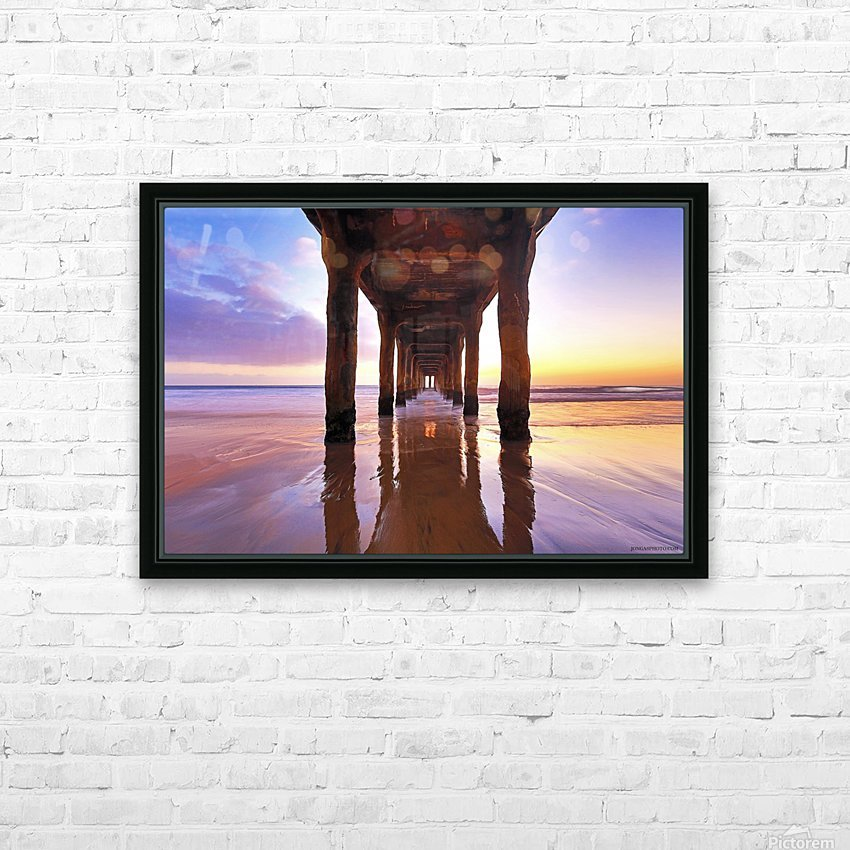 stronger than ever HD Sublimation Metal print with Decorating Float Frame (BOX)