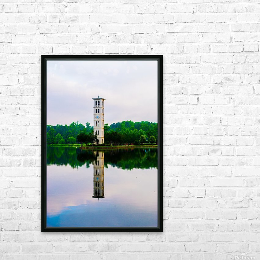 Furman University HD Sublimation Metal print with Decorating Float Frame (BOX)