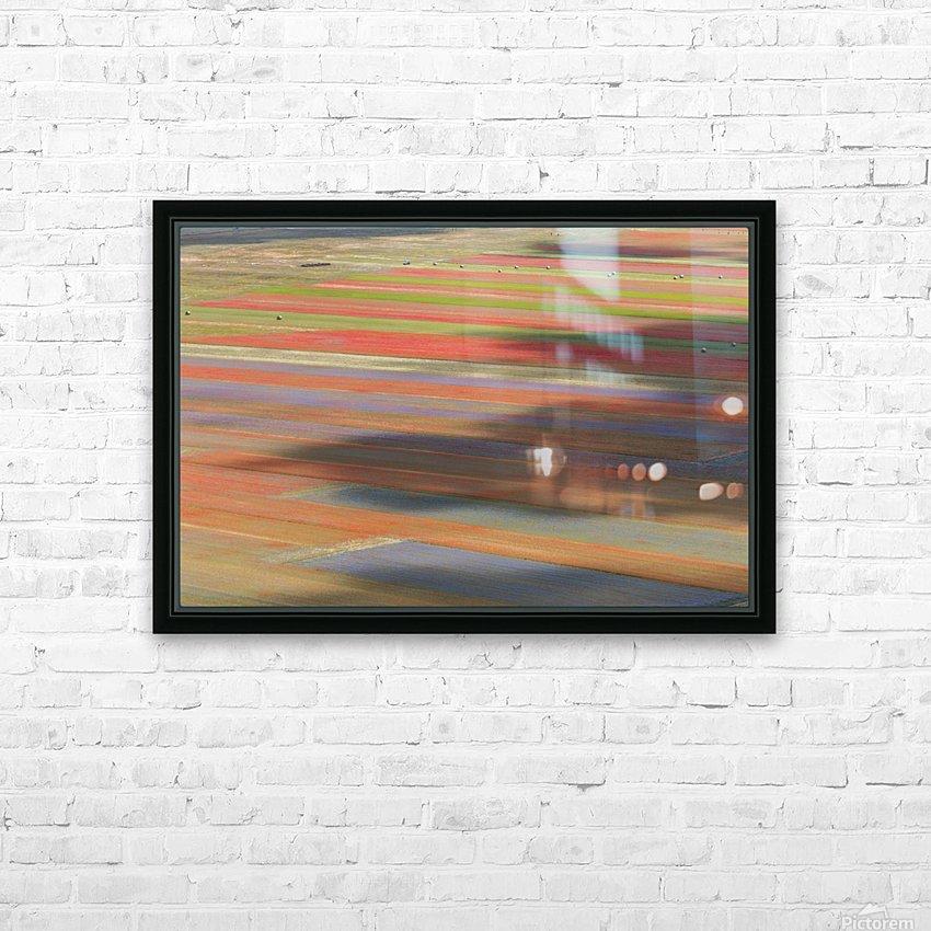 La fioritura di Castelluccio HD Sublimation Metal print with Decorating Float Frame (BOX)