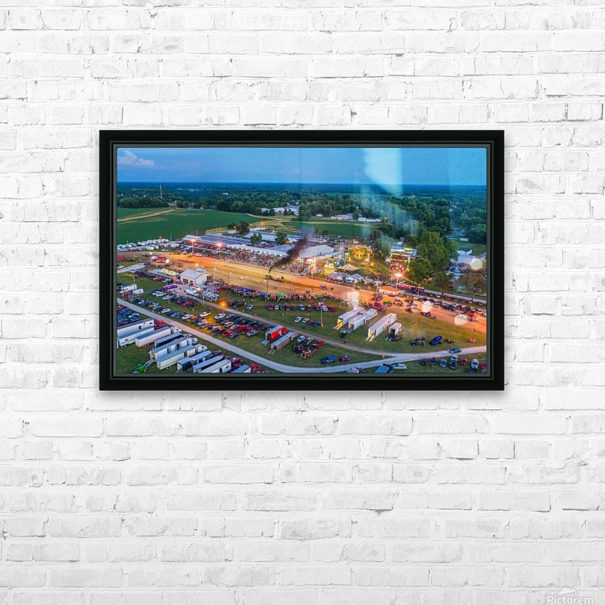 2017 Schuyler Co Fair Tractor Pull HD Sublimation Metal print with Decorating Float Frame (BOX)