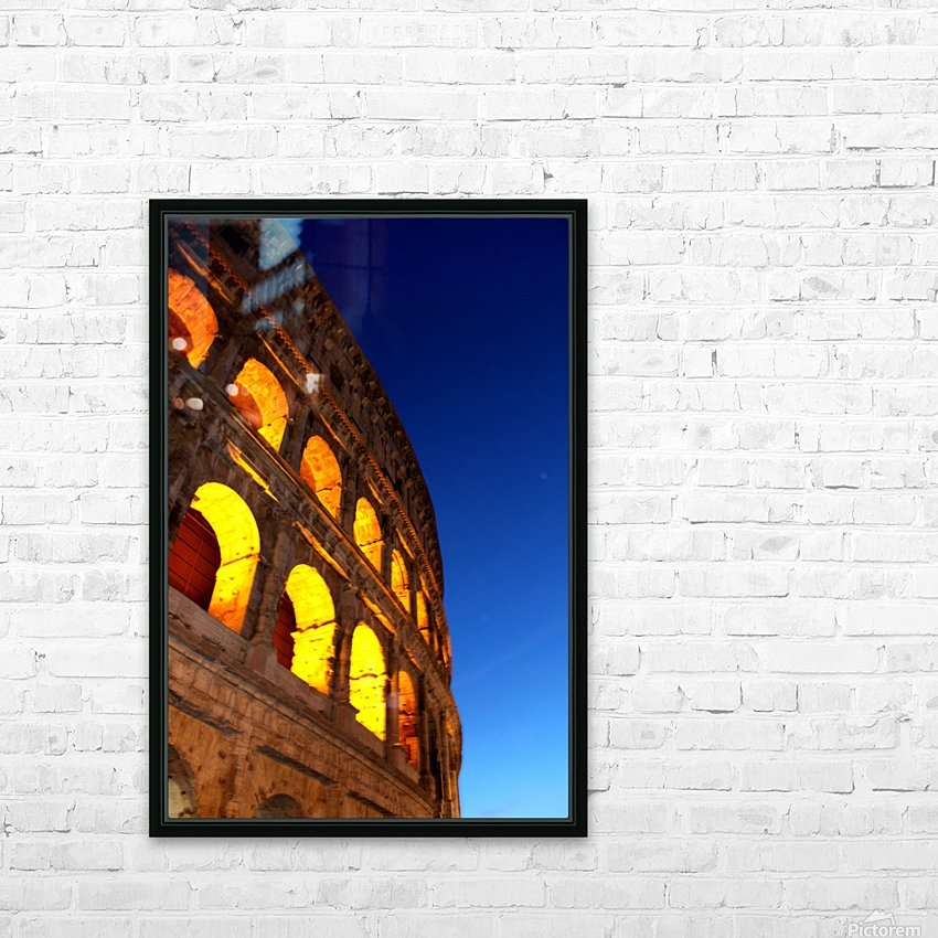 R O M E - Italy HD Sublimation Metal print with Decorating Float Frame (BOX)