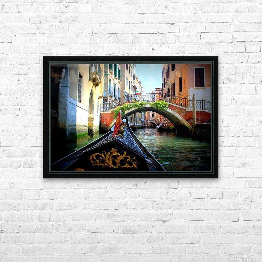 V E N I C E - Italy HD Sublimation Metal print with Decorating Float Frame (BOX)