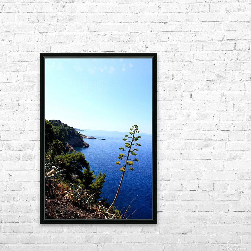 D U B R O V N I K - Croatia HD Sublimation Metal print with Decorating Float Frame (BOX)