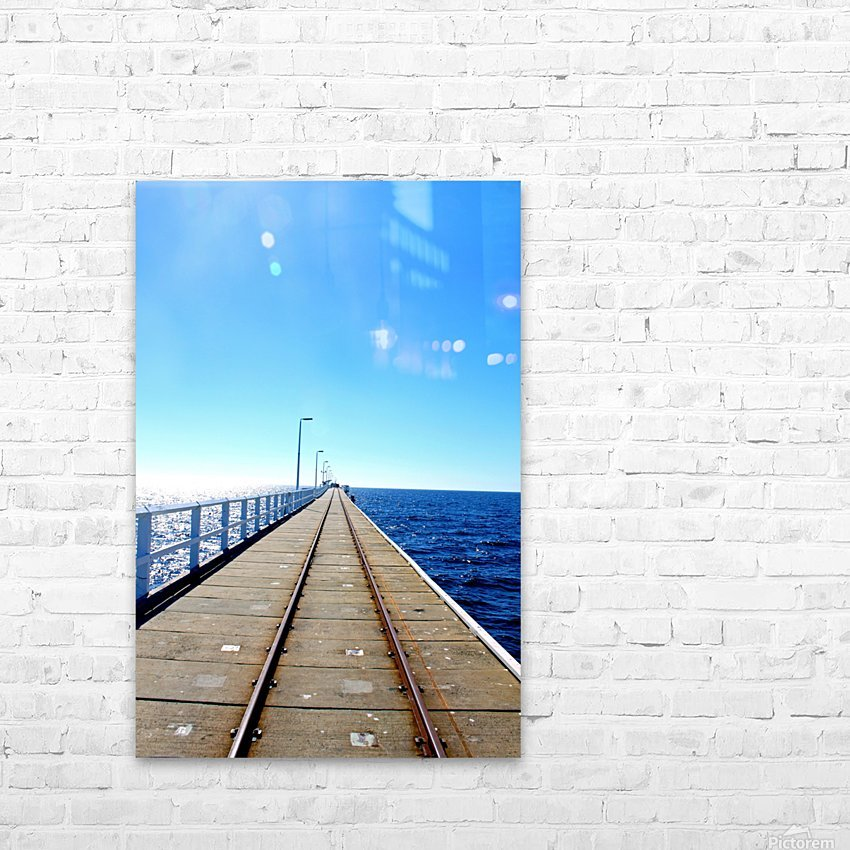 P E R T H - Australia HD Sublimation Metal print with Decorating Float Frame (BOX)