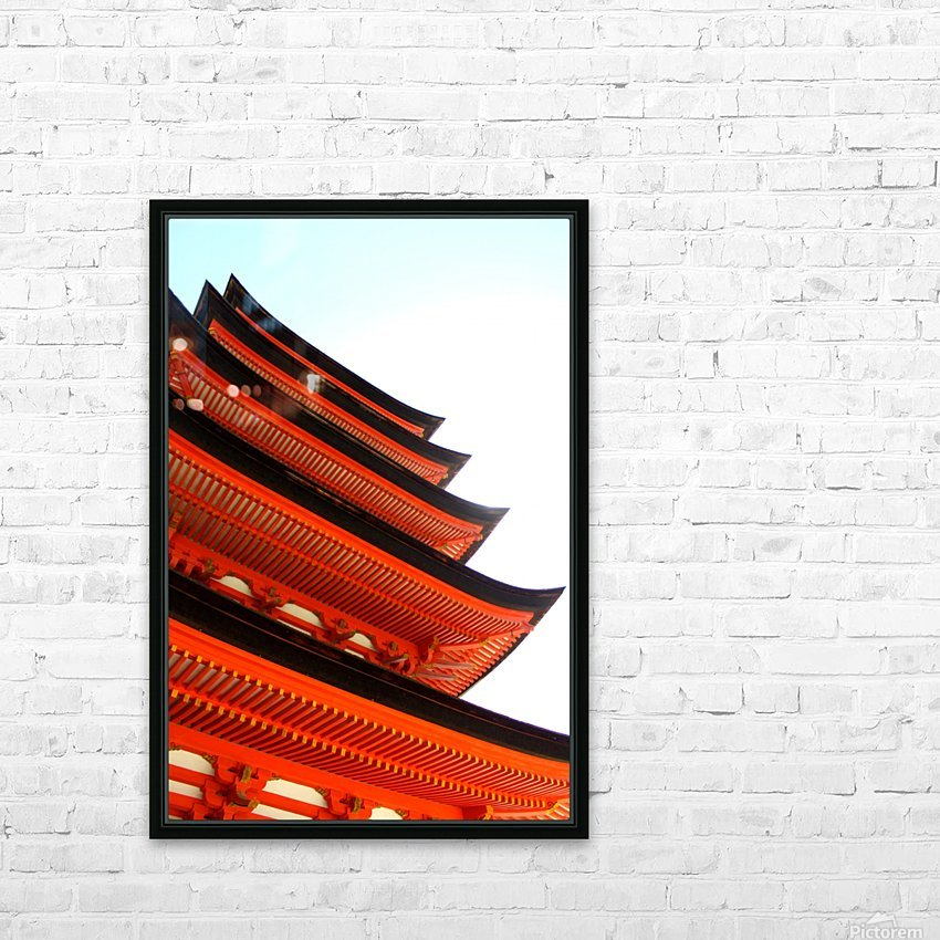 J A P A N HD Sublimation Metal print with Decorating Float Frame (BOX)