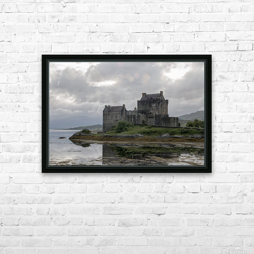 Eilean Donan Castle HD Sublimation Metal print with Decorating Float Frame (BOX)