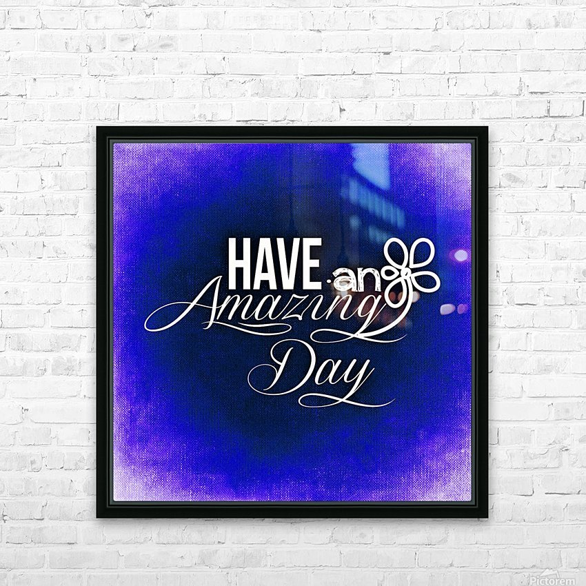 AMAZING DAY 02_OSG HD Sublimation Metal print with Decorating Float Frame (BOX)