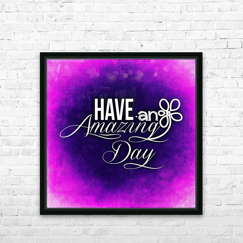 AMAZING DAY 04_OSG HD Sublimation Metal print with Decorating Float Frame (BOX)