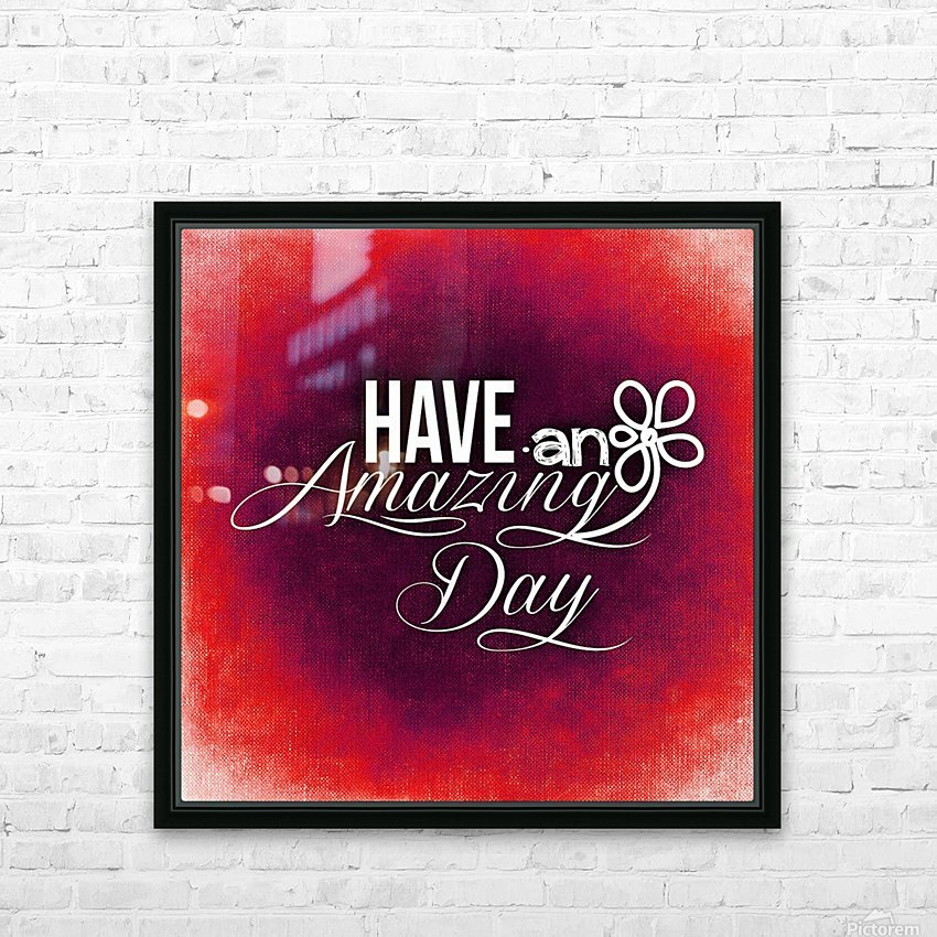 AMAZING DAY 05_OSG HD Sublimation Metal print with Decorating Float Frame (BOX)