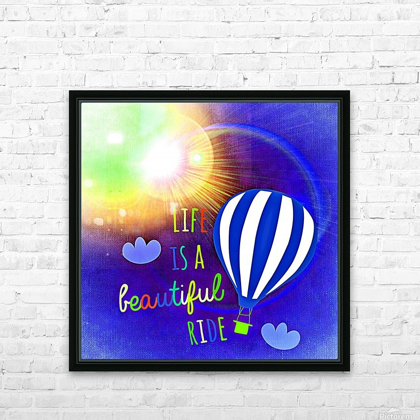 Beautiful Life 03_OSG HD Sublimation Metal print with Decorating Float Frame (BOX)