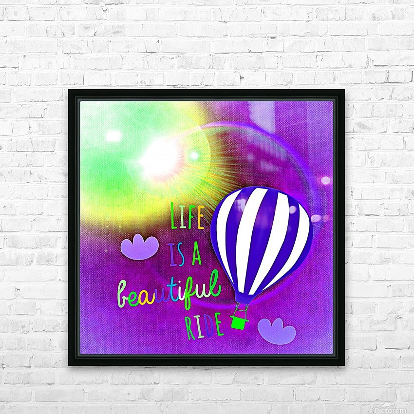 Beautiful Life 04_OSG HD Sublimation Metal print with Decorating Float Frame (BOX)