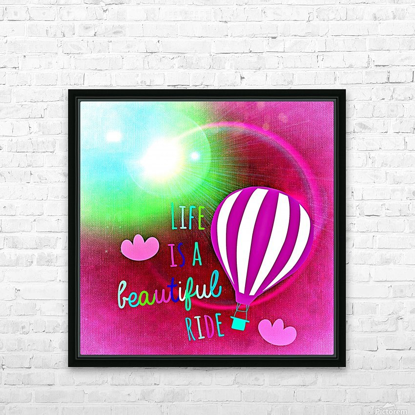 Beautiful Life 06_OSG HD Sublimation Metal print with Decorating Float Frame (BOX)