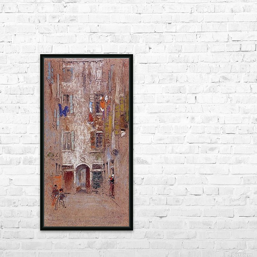Corte del Paradiso by Whistler HD Sublimation Metal print with Decorating Float Frame (BOX)