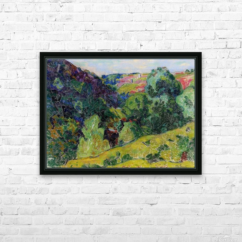 Landscape of the Creuse HD Sublimation Metal print with Decorating Float Frame (BOX)